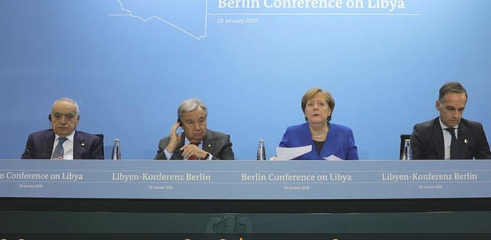 No more arms: World powers pledge to halt Libya weapon transfers