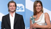 Brad Pitt, Jennifer Aniston win at SAG Awards