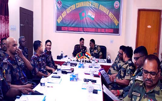 BGB-BSF agree to solve border issues