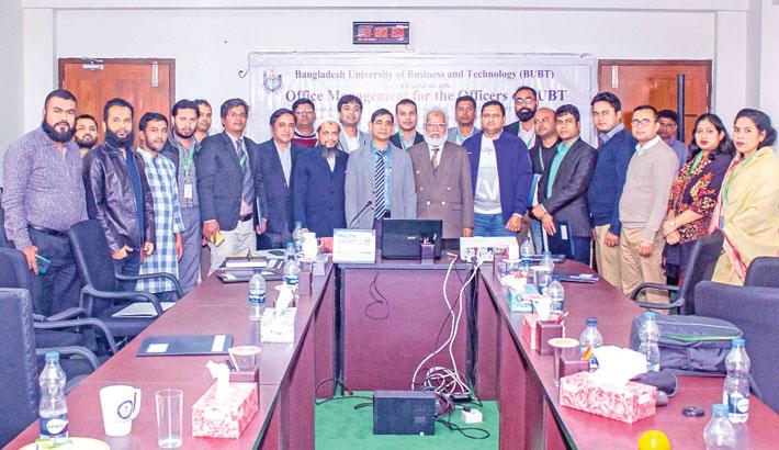 IQAC of BUBT arranges training