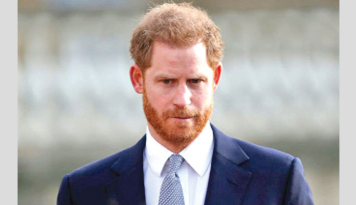 Prince Harry voices 'great sadness' at royal split