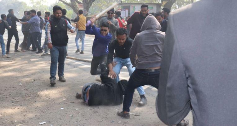 Islamic University BCL general secretary Rakib, 19 others injured in factional clash