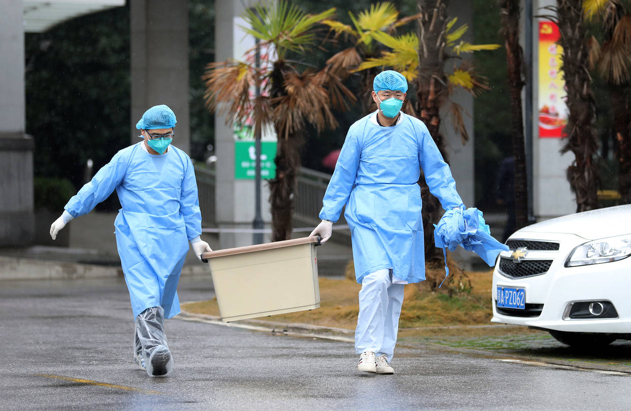 Chinese coronavirus fears infect global markets