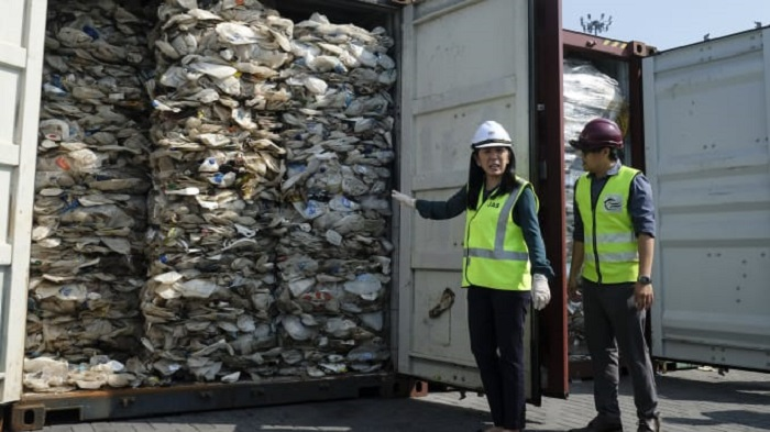 Malaysia sent back tons of plastic waste to rich countries