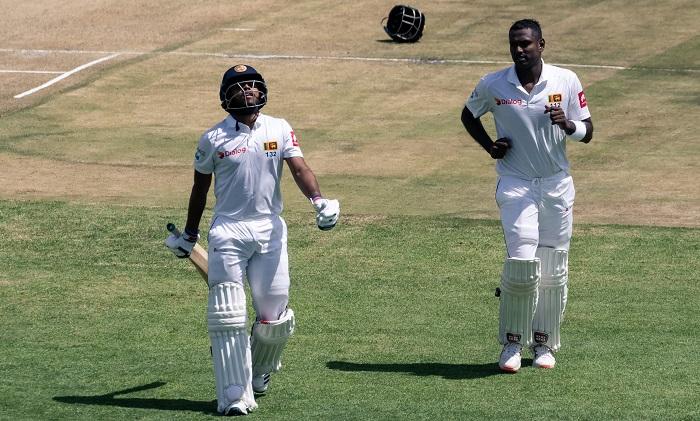 Mathews, Mendis hand Sri Lanka advantage