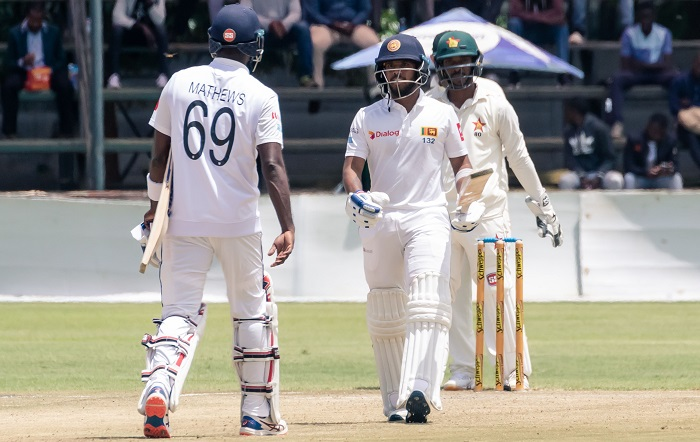 Mendis, Mathews lay platform for SL's response to 358