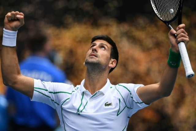 New power serve sends Djokovic into Aussie Open round three