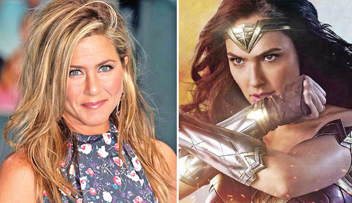 I wanted to play Wonder Woman: Aniston