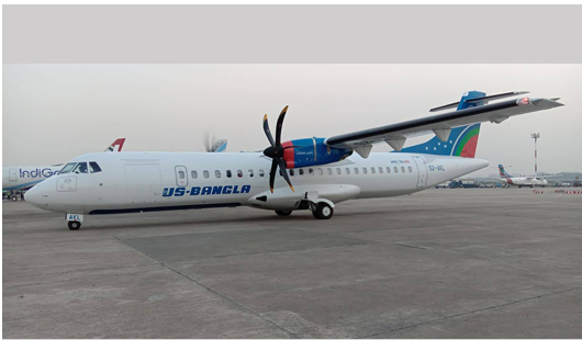 US-Bangla airlines adds 6th ATR aircraft