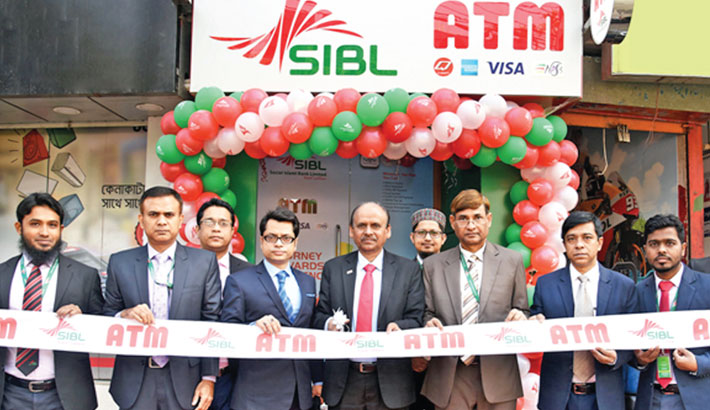 SIBL opens ATM booth in city
