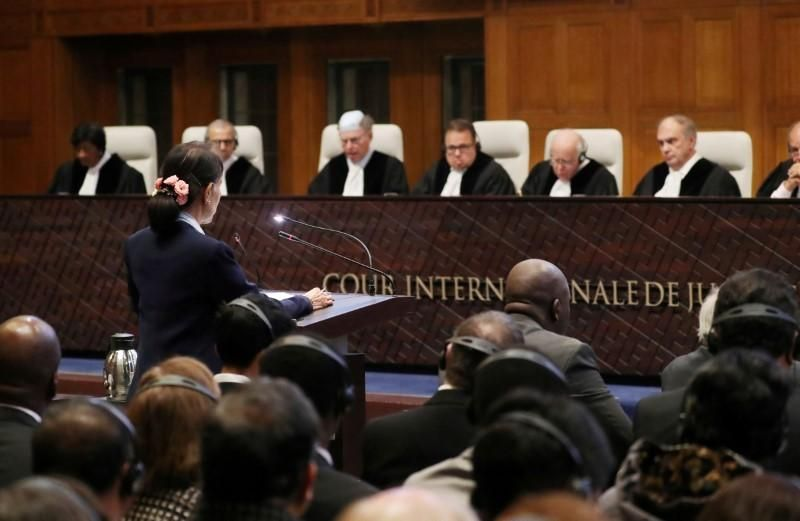 Top UN court says it can rule in Rohingya case