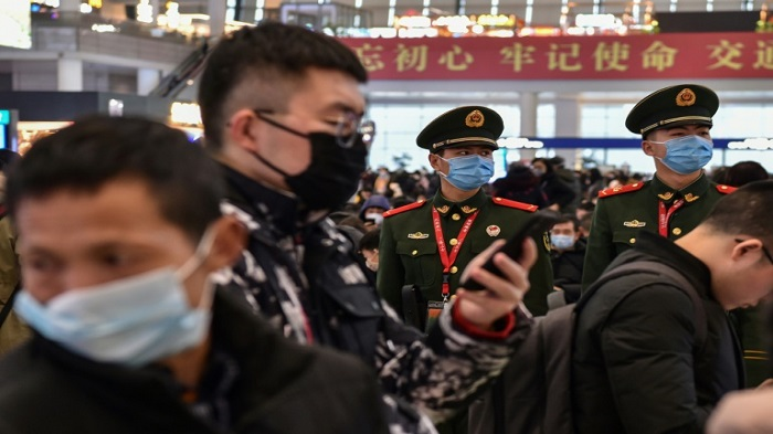 China locks down two cities to curb virus outbreak