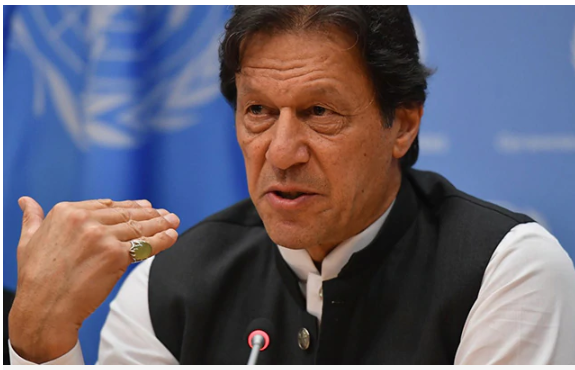 We discuss with China about Uighurs privately, not publicly: Imran Khan