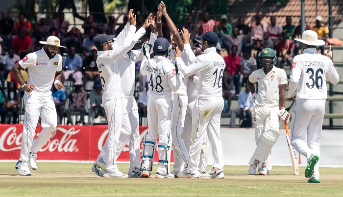 Lakmal sets up Sri Lanka win in first Test against Zimbabwe