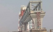 3,300 metre of Padma Bridge visible as 22nd span installed
