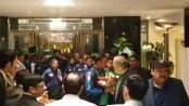 Bangladesh cricket team safely reach Pakistan