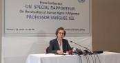 UN Special Rapporteur on HR in Myanmar Lee wants international ad-hoc tribunal