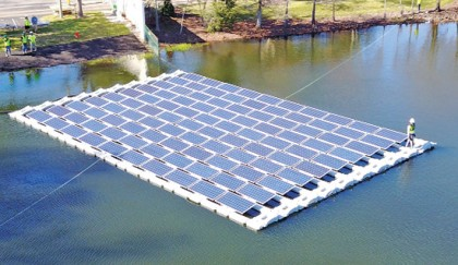 Govt plans to install floating solar panels