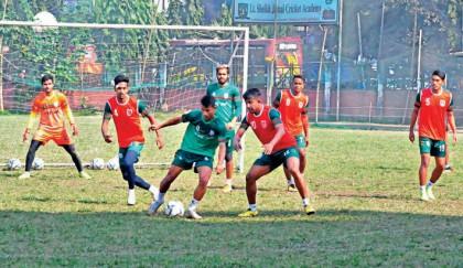 Bangladesh face Burundi in semi clash today