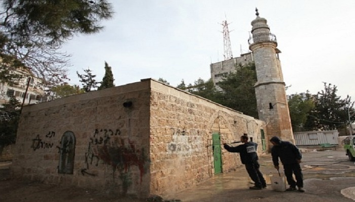 Vandals set fire to mosque in east Jerusalem