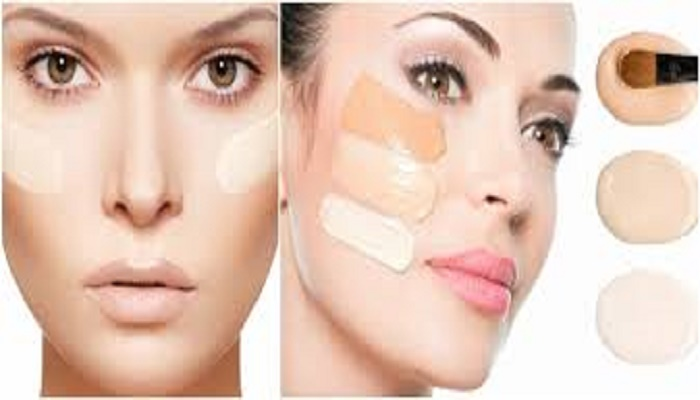 How to apply make-up on dry, flaky skin