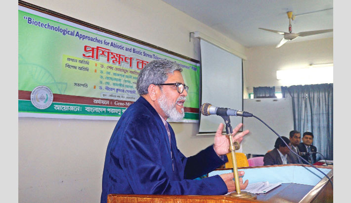 BARC chairman speaks as the chief guest at a workshop