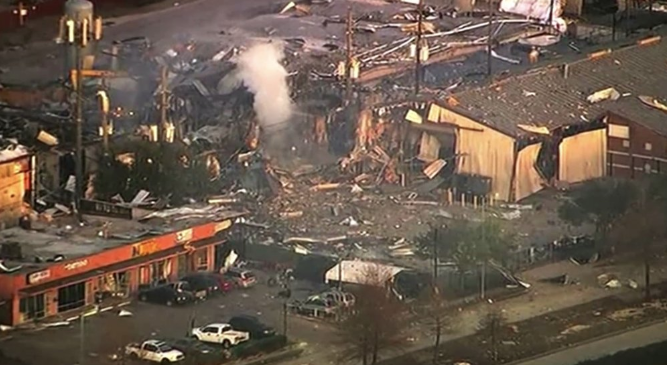 2 dead after warehouse explosion shakes Houston