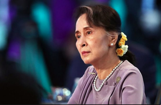 Myanmar democracy icon who fell from grace