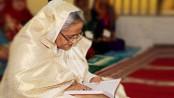 Prime Minister recites verses from Quran beside Bangabandhu's shrine