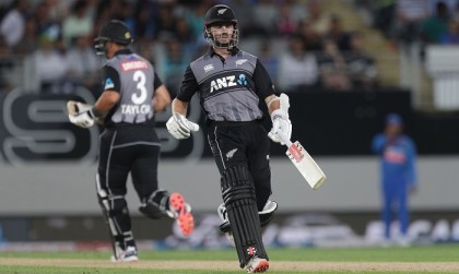 Fifties from Munro, Williamson, Taylor bolster New Zealand against India