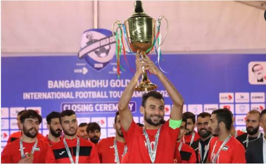 Palestine beat Burundi 3-1 to retain Bangabandhu Gold Cup title