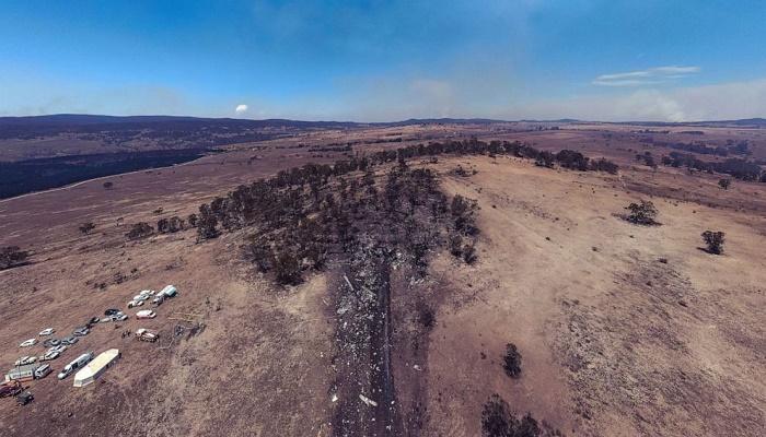 3 dead US fire bombers retrieved from Australian forest