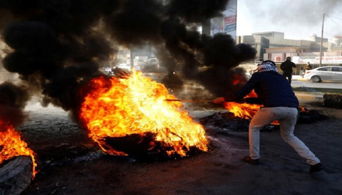 Two Iraq protesters killed at anti-regime rally