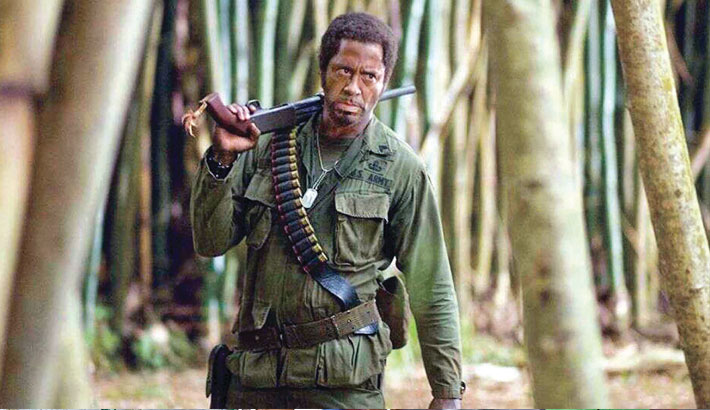 Downey Jr. talks about blackface character from Tropic Thunder