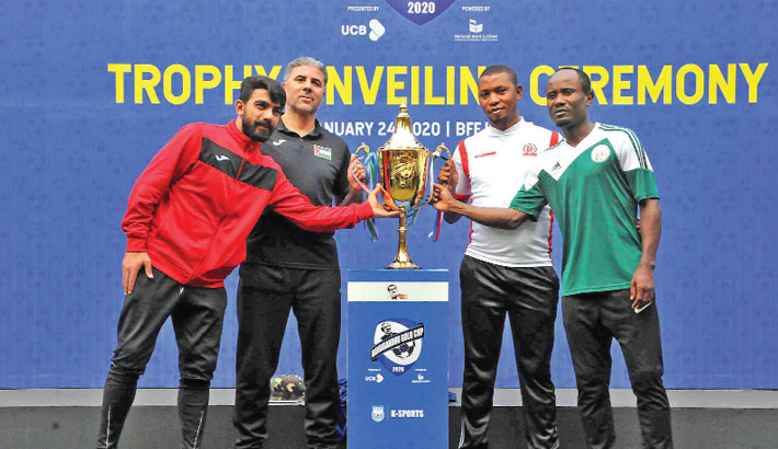 Palestine face Burundi in final today