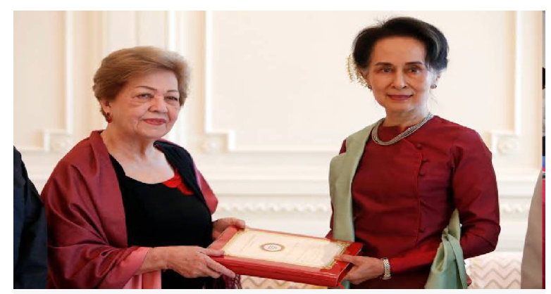 Genocide charge dents halo of Myanmar's Suu Kyi