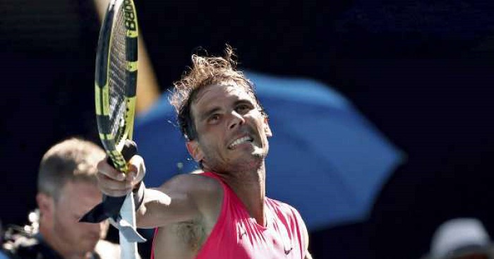 Improved Nadal makes foe feel 'powerless' at Australian Open