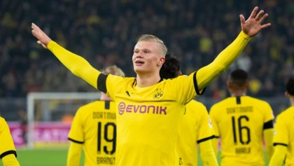 'Simply wonderful' Haaland hits two more goals as Dortmund rout Cologne
