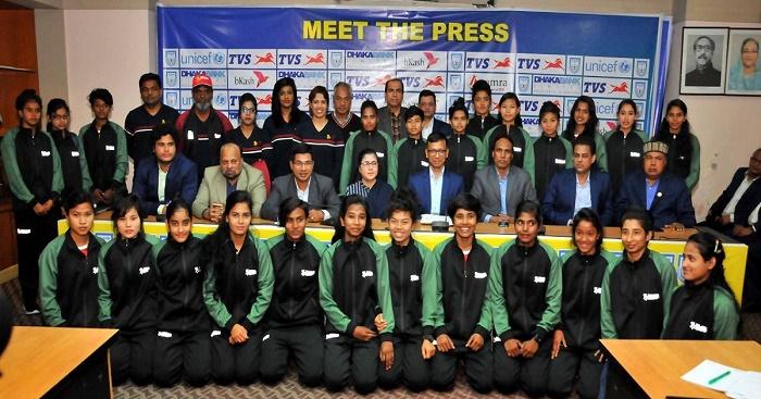 Bashundhara Kings form strong team for Women's Football League