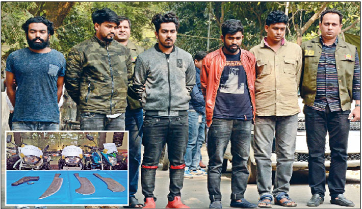 5 bike lifters held