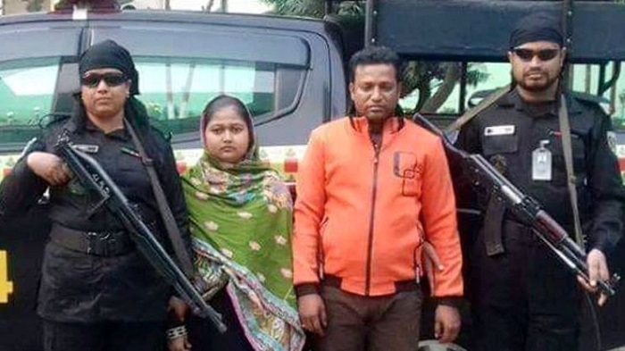 Couple arrested for raping sister-in-law at Savar