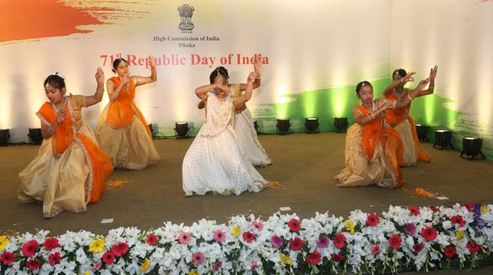 Indian mission celebrates 71st Republic Day