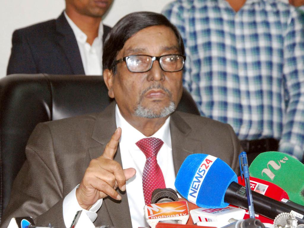 No level playing field within EC: Mahbub Talukdar