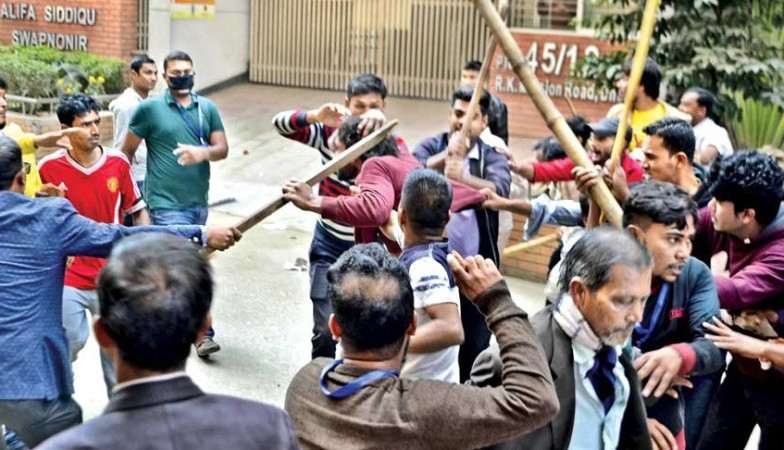 Fifty BNP men sued over Gopibagh clash