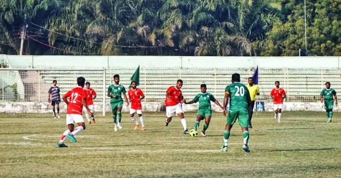 BB Football: Narayanganj beat Faridpur 3-1