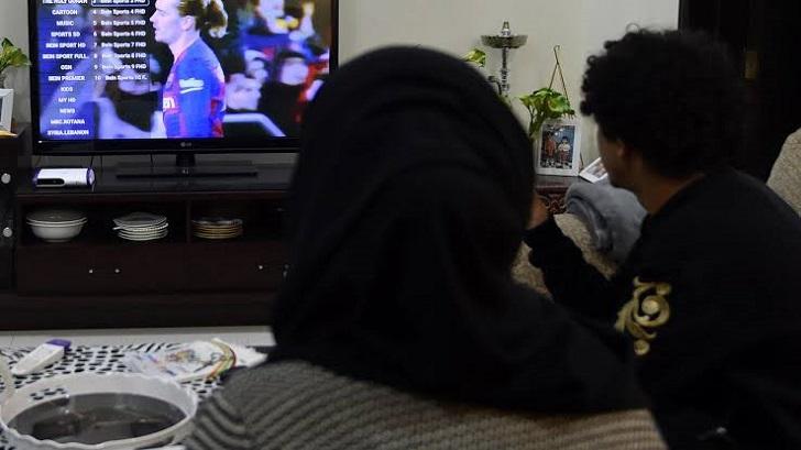 Saudi fans navigate Gulf rift to keep sport on screens