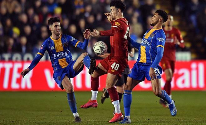 Liverpool held by League One Shrewsbury