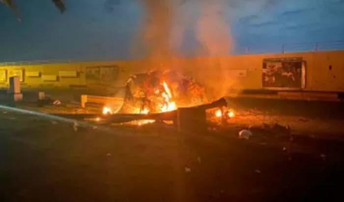 Rockets hit near US embassy in Iraq capital