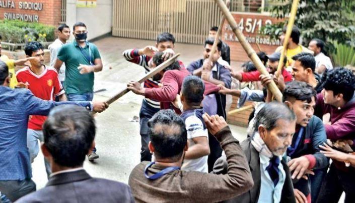 Five arrested over Sunday's Gopibagh clash