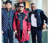 AR Rahman at the Grammys with son Ameen